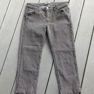 SUPER CUTE CAbi striped capri jeans